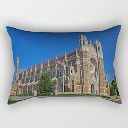 Old West End Our Lady Queen of the Most Holy Rosary Cathedral II- horizontal Rectangular Pillow