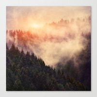 hiking Canvas Prints featuring In My Other World by Tordis Kayma