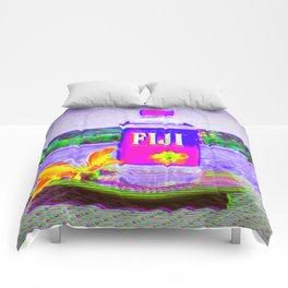 Fiji Water Comforters