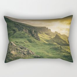 Mesmerized By the Quiraing IV Rectangular Pillow
