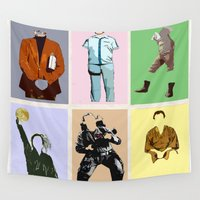 bill Wall Tapestries featuring Mr Bill by T.E.Perry