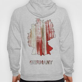Germany map Hoody