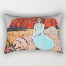 East of the Sun West of the Moon Rectangular Pillow