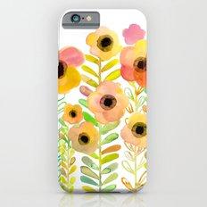 Peony field Slim Case iPhone 6s