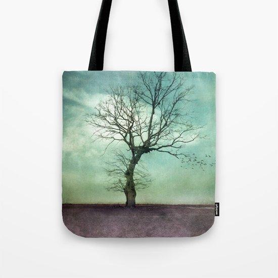 ATMOSPHERIC TREE I Tote Bag