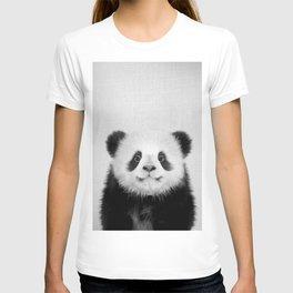 Panda Bear - Black & White T-shirt