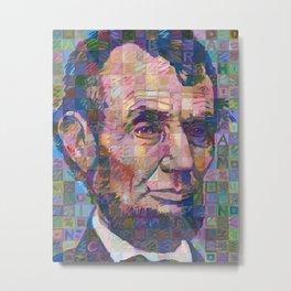 Abraham Lincoln No. 2 Metal Print