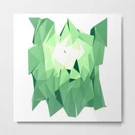 Polygon Three Metal Print