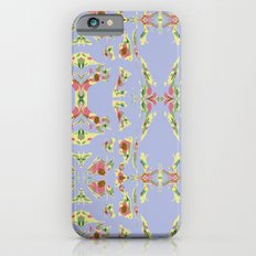 Pattern AM03 Blue Slim Case iPhone 6s