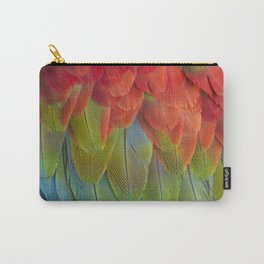 Macaw Feathers. Carry-All Pouch