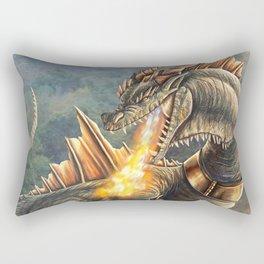 Taro VS Cyclops Commission Rectangular Pillow