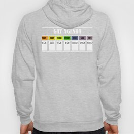 Gay agenda lgbt shirt Hoody
