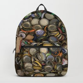 Bottlecap Collage Backpack