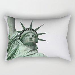 Face of Freedom Rectangular Pillow