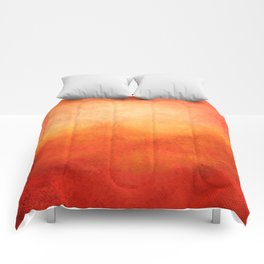 Crimson Dawn Comforters