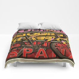 Cycling Grand Tours Bicycle Races Comforters