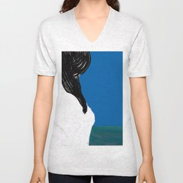 she is the sea Unisex V-Neck