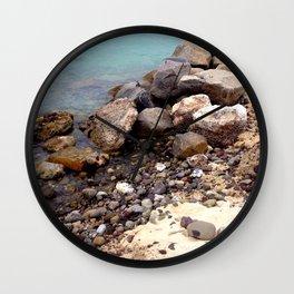 Rock Island Wall Clock