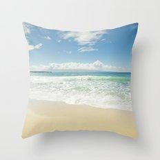 kapalua beach maui hawaii Throw Pillow
