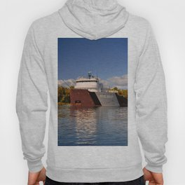 Roger Blough freighter in the Fall Hoody