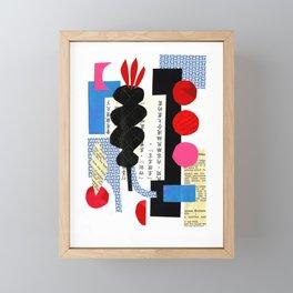 'under three moons ...' Framed Mini Art Print