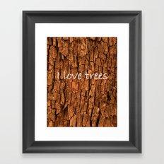Bark (2) Framed Art Print