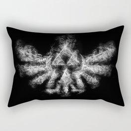 Triforce Smoke Rectangular Pillow
