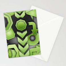 Strike Out! Stationery Cards