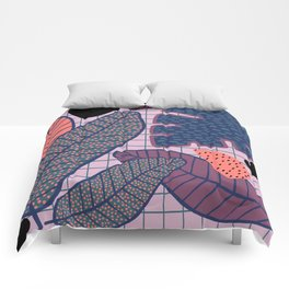 Palm & Monstera Leaves Comforters