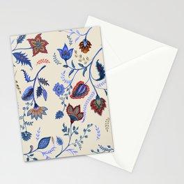 Patterns on Beige by Fanitsa Petrou Stationery Cards