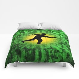 Disc Golfer Comforters