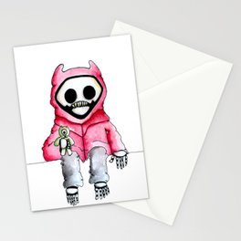 Kid Death Stationery Cards