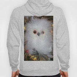 Cute fluffy Snow Owl Hoody