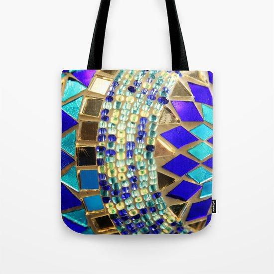 mosaic and beads [photograph] Tote Bag
