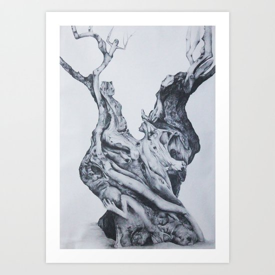 Humanity definition Art Print