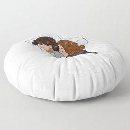 little spoon Floor Pillow