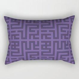 Snake Very Violet Rectangular Pillow