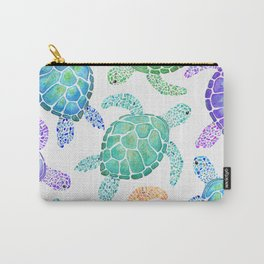 Sea Turtle - Colour Carry-All Pouch