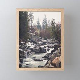 Morning Mountain Escape - Nature Photography Framed Mini Art Print