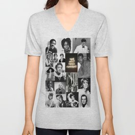 Think About Things Differently: Comedians Unisex V-Neck