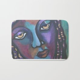Pigeon Island Blues Bath Mat