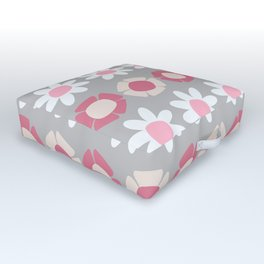 Peggy Pink Outdoor Floor Cushion