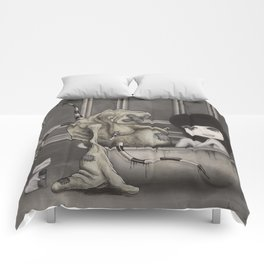 """Dirty"" Comforters"