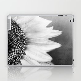 B&W Sunflower Laptop & iPad Skin