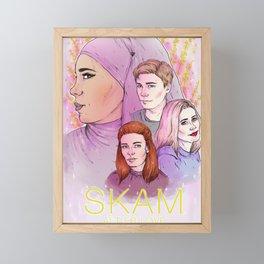 Alt er Love Framed Mini Art Print