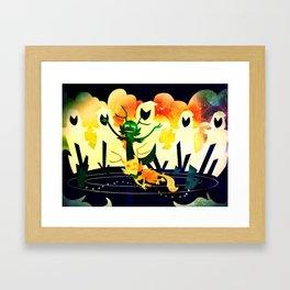 The Path I Ruin Framed Art Print