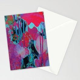 Flora Celeste Agate Lotus  Stationery Cards