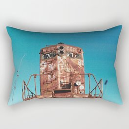 Old Train-Film Camera Rectangular Pillow