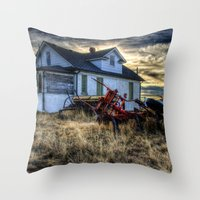 arsenal Throw Pillows featuring Egli House by Photography By KC