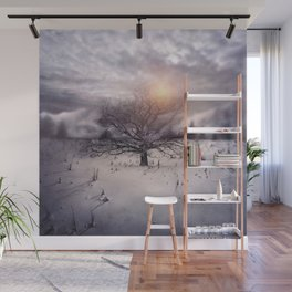 Lone Tree Love II Wall Mural